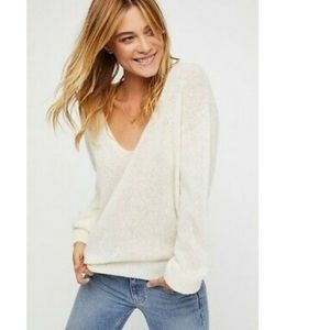 Free People Gossamer Sweater NWOT